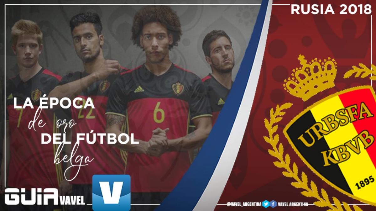 Guía selección belga 2018: la época de oro del fútbol belga