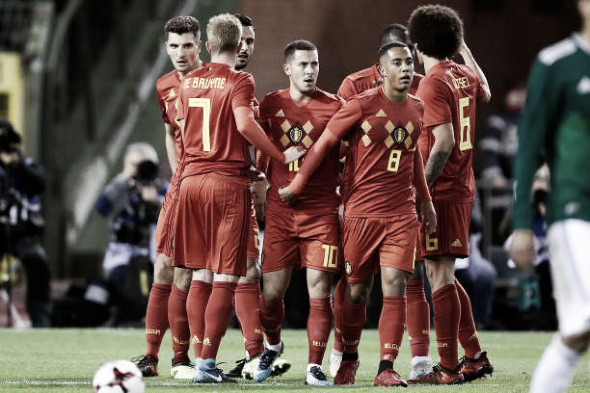 Em 'última oportunidade antes da Copa', Bélgica anuncia lista para amistoso contra Árabia Saudita