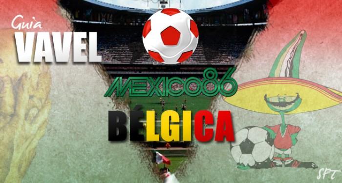 Guía VAVEL Mundial México 1986: Bélgica