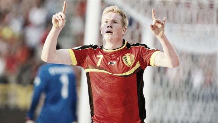 De Bruyne descarta boato de descontentamento dos atletas com técnico da Bélgica