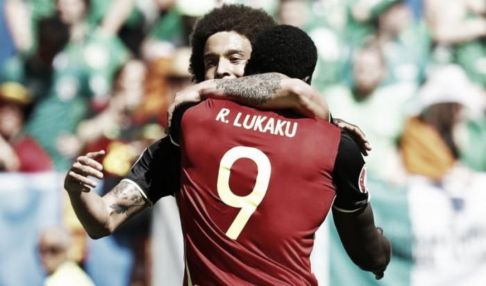 Com dois de Lukaku, Bélgica bate Irlanda e conquista primeira vitória na Eurocopa