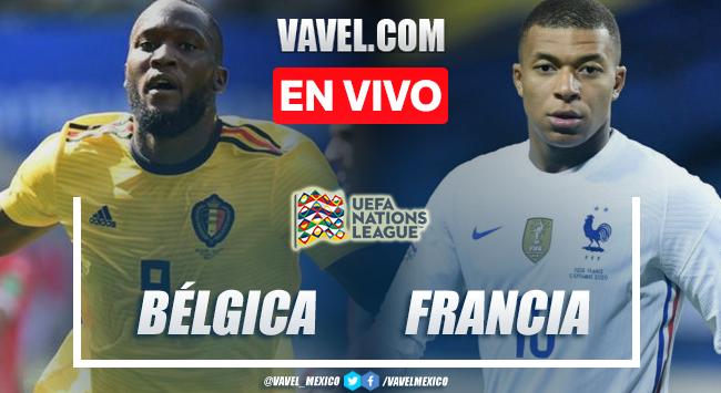 Goles y resumen del Bélgica 2-3 Francia en UEFA Nations League