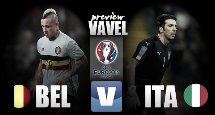 Bélgica e Itália travam combate pelo 'grupo da morte' na Eurocopa
