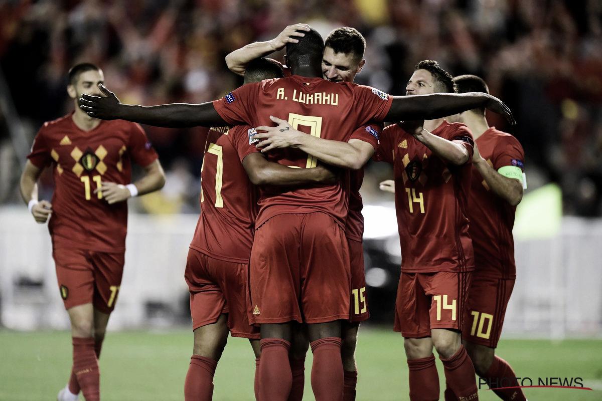 Lukaku pone líder a Bélgica