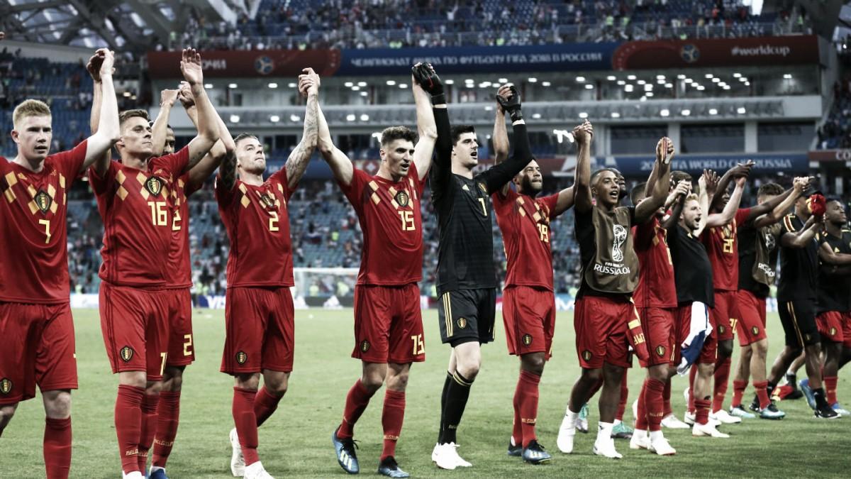 Bélgica arrancó con una goleada su camino mundialista