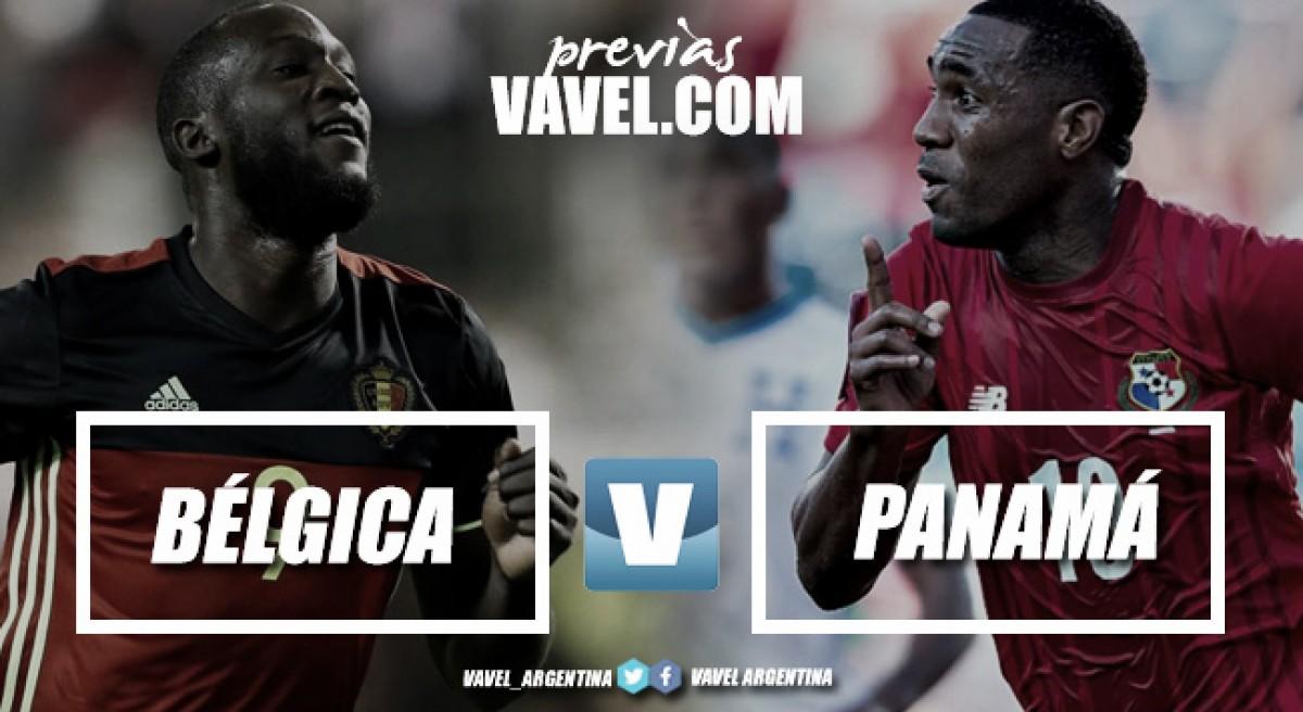 Previa Bélgica - Panamá: la potencia contra los debutantes