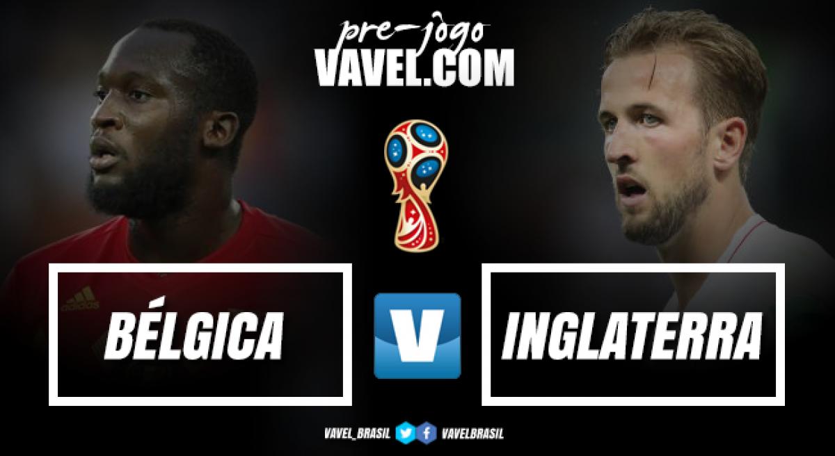 Bélgica e Inglaterra se reencontram na disputa pelo terceiro lugar da Copa
