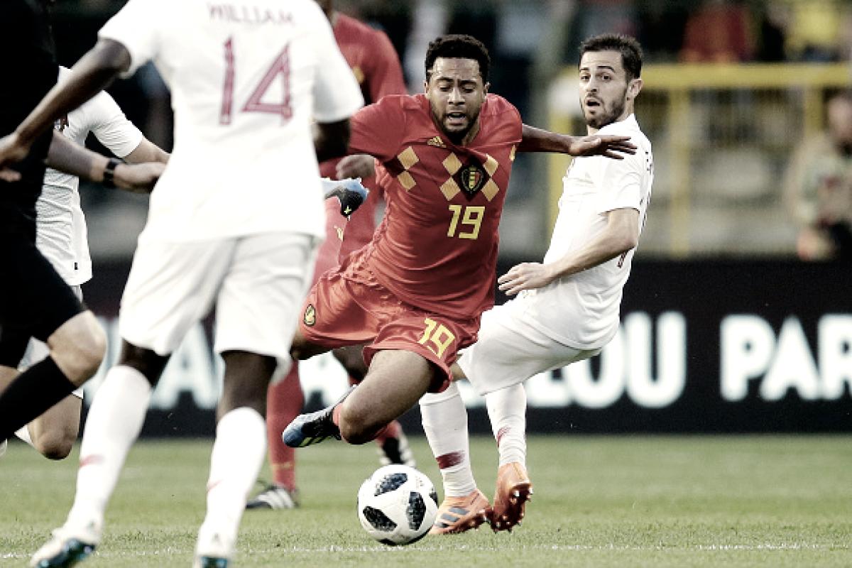 Bélgica e Portugal empatam em jogo pouco movimentado