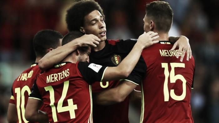 Qualificazioni Russia 2018 - Il Belgio chiude rifilando un poker a Cipro (4-0)