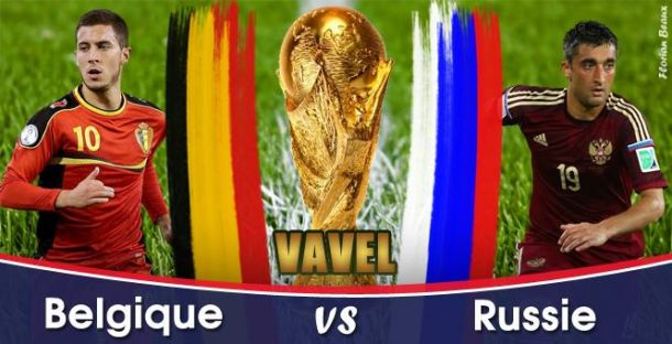 Live Coupe du Monde 2014 : Belgique - Russie en direct