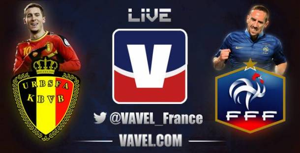 Belgique - France en direct (terminé)