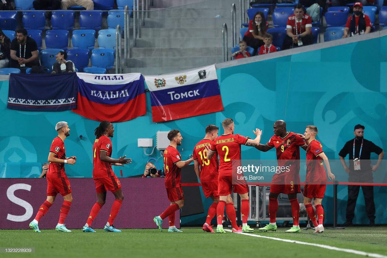Belgium 3-0 Russia: Lukaku pays tribute to Eriksen as Belgians cruise to victory
