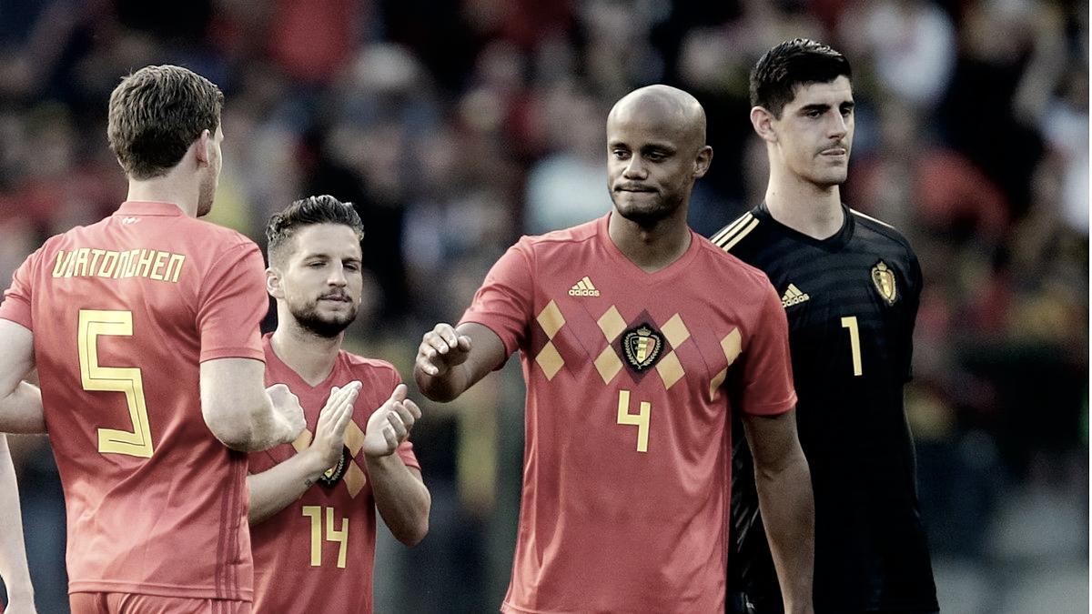 Consistencia en forma de defensa para Bélgica