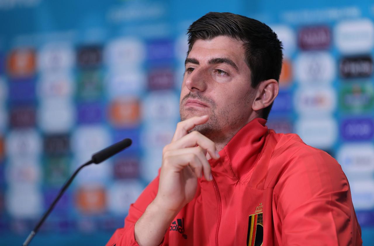 Team goals rank above personal success for Belgium keeper Courtois