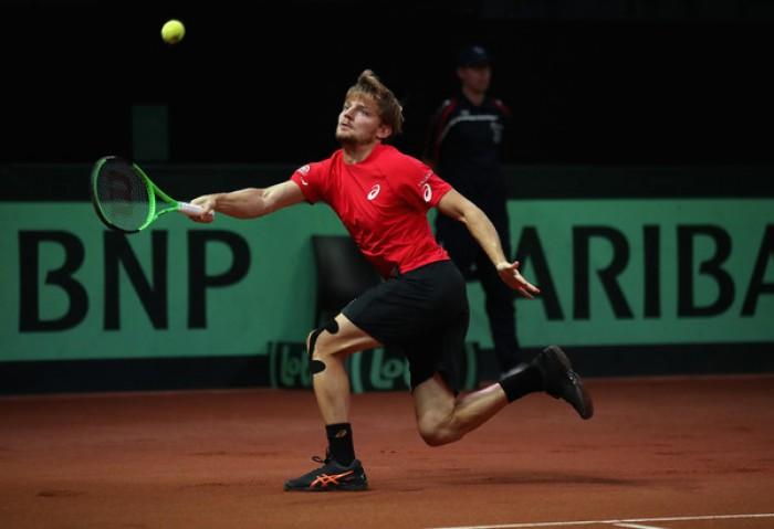Davis Cup - Bivio Belgio, Goffin deve battere Kyrgios