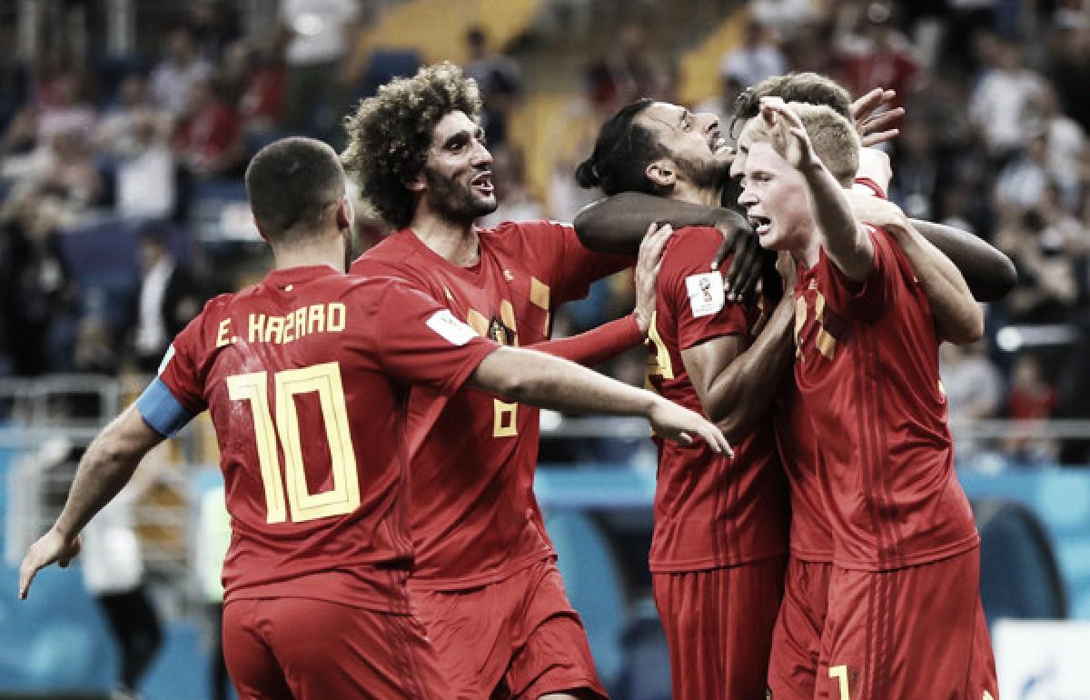 Bélgica venció a Japón y espera por Brasil
