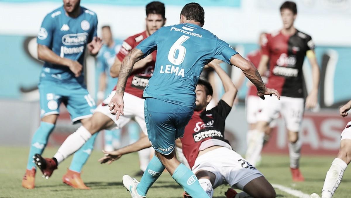 Lema catapulta a Belgrano a la Sudamericana