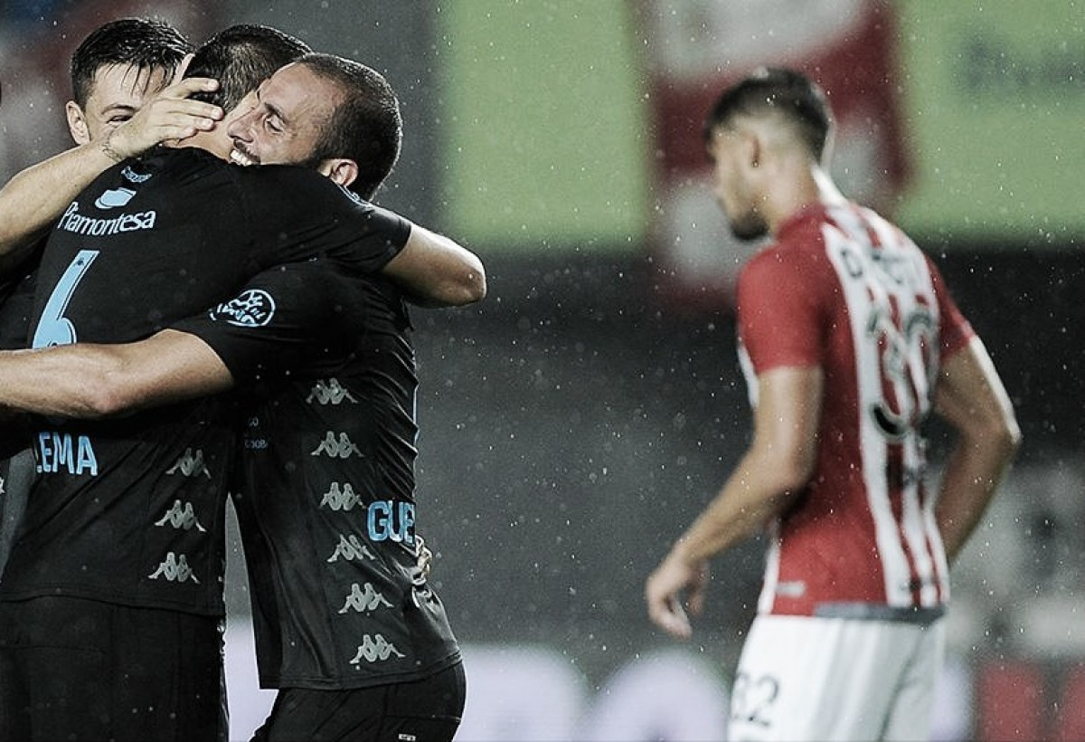 Belgrano consiguió tres puntos de oro en La Plata
