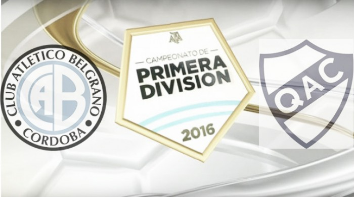 Resultado Belgrano 2-2 Quilmesen el Torneo de Transición 2016