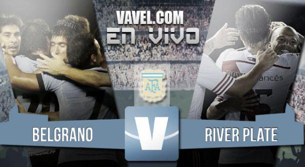 Resultado Belgrano - River Plate 2015 (1-2)