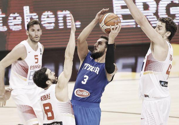 EuroBasket, un'Italia inarrestabile travolge la Spagna (105-98)