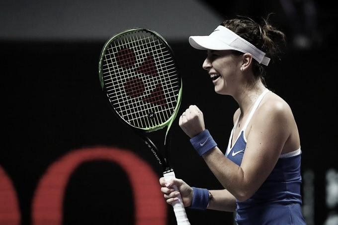 Bencic despacha Kvitova e garante primeira vitória no WTA Finals