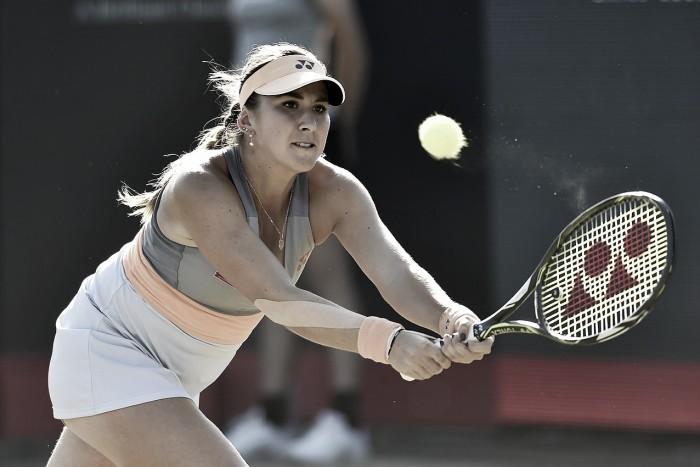 WTA s-Hertogenbosch: Belinda Bencic comes from behind to defeat Varvara Lepchenko