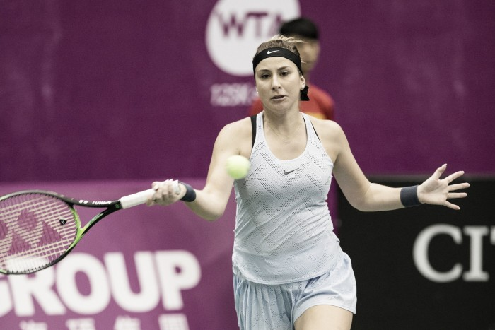 WTA Taipei 125K: Belinda Bencic ousts third seed Duan Yingying in the first round