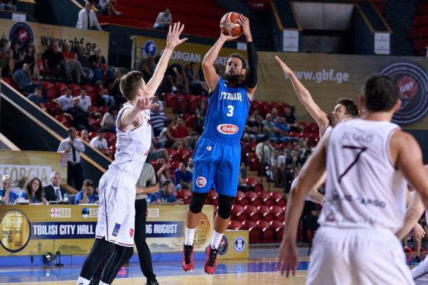 Basket, Torneo Città di Trieste: Italia in campo con la Georgia