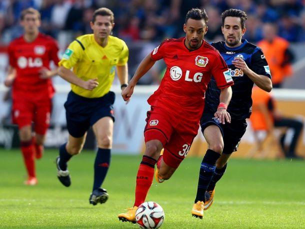 Bayer Leverkusen 2 - 2 SC Paderborn 07: Bellarabi secures late point again 10 man Paderborn