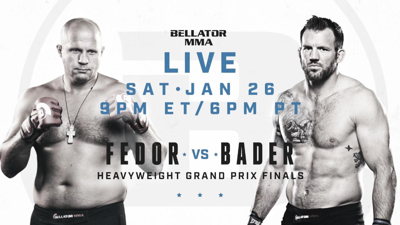 El calendario de Bellator en enero y febrero