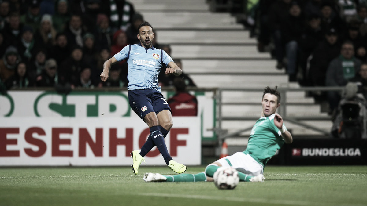 Langkamp marca dois gols contra e Bayer Leverkusen goleia Werder Bremen fora de casa