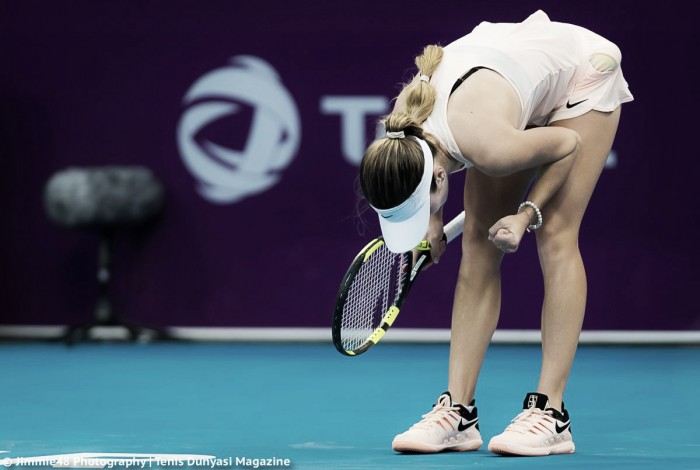 WTA Doha: Catherine Bellis stuns Karolina Pliskova in straight sets