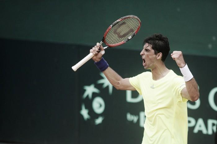 Copa Davis: Rogerinho perde na estreia, mas Bellucci empata confronto diante do Equador