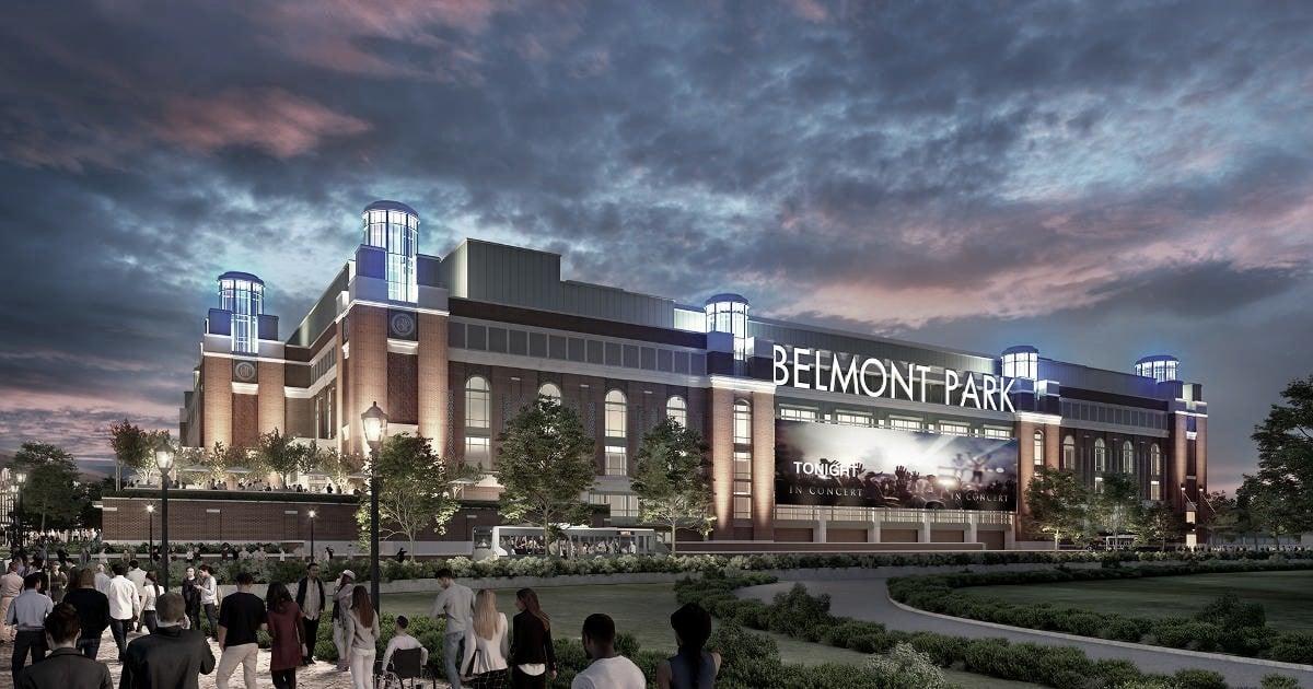 Se reanudan las obras en Belmont Park
