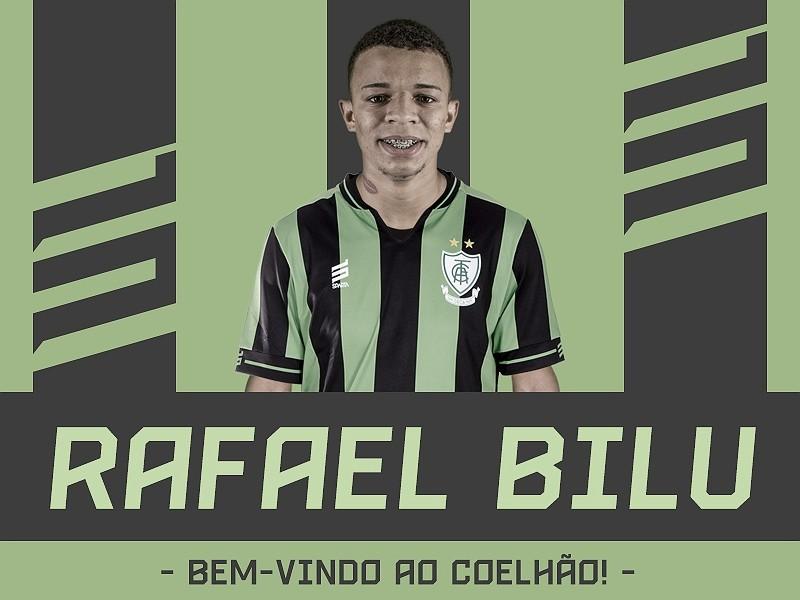 América-MG anuncia contratação do atacante Rafael Bilu, ex-Corinthians