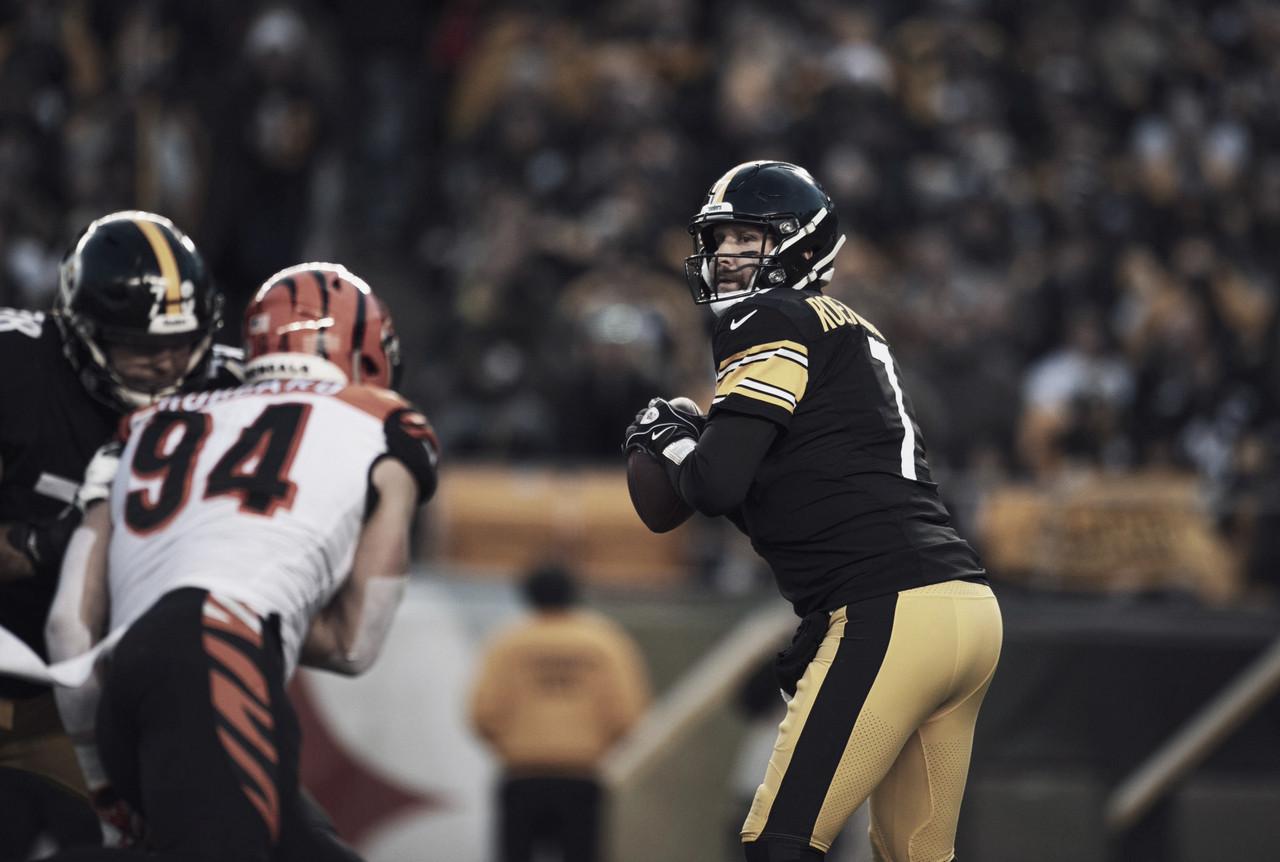 Steelers hacen la tarea pero no les alcanza