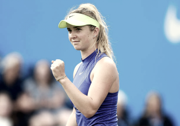 WTA Birmingham: Elina Svitolina, Barbora Strycova through on Day 1