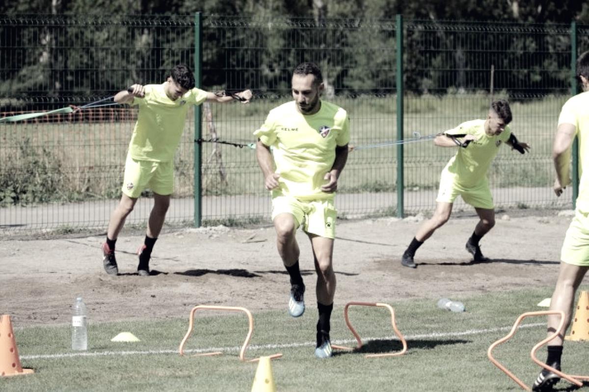 Buenas sensaciones para la SD Huesca en la primera fase de pretemporada en Benasque