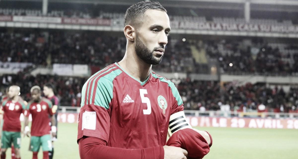 Estrella de Marruecos 2018: Medhi Benatia, la bandera marroquí
