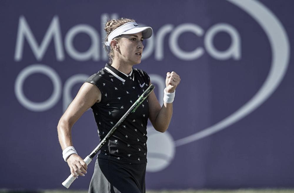 Em Mallorca, Bencic atropela Anisimova e garante vaga nas semifinais