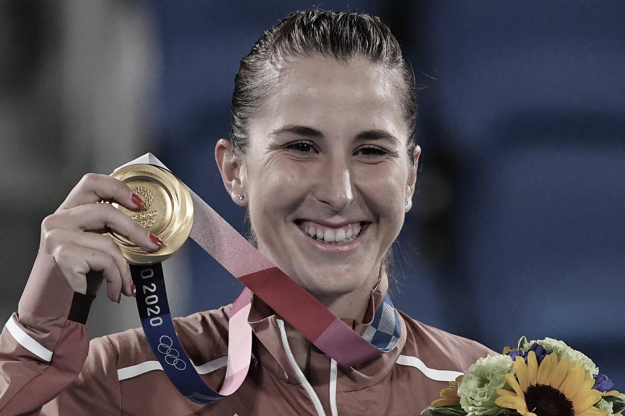 Com drama, Bencic supera Vondrousova e conquista medalha de ouro na Tokyo 2020