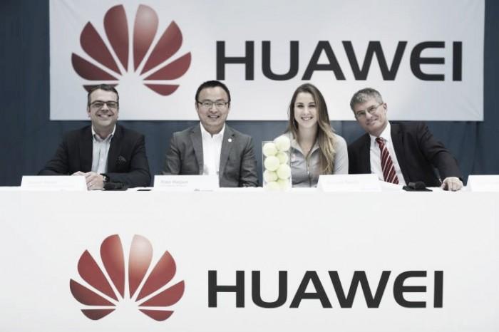 Belinda Bencic brand new ambassador of Huawei Switzerland