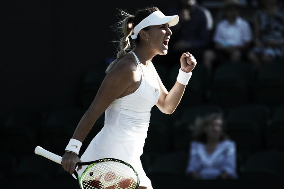 Wimbledon: Belinda Bencic sends Caroline Garcia packing in straight sets