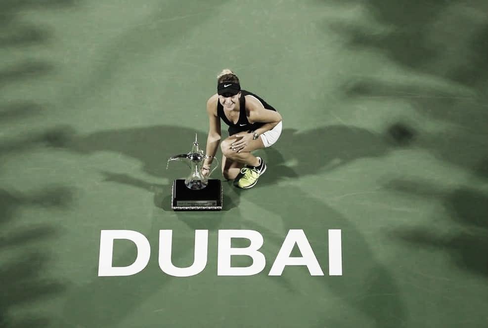 Em semana dos sonhos, Bencic supera Kvitova e conquista título de Dubai