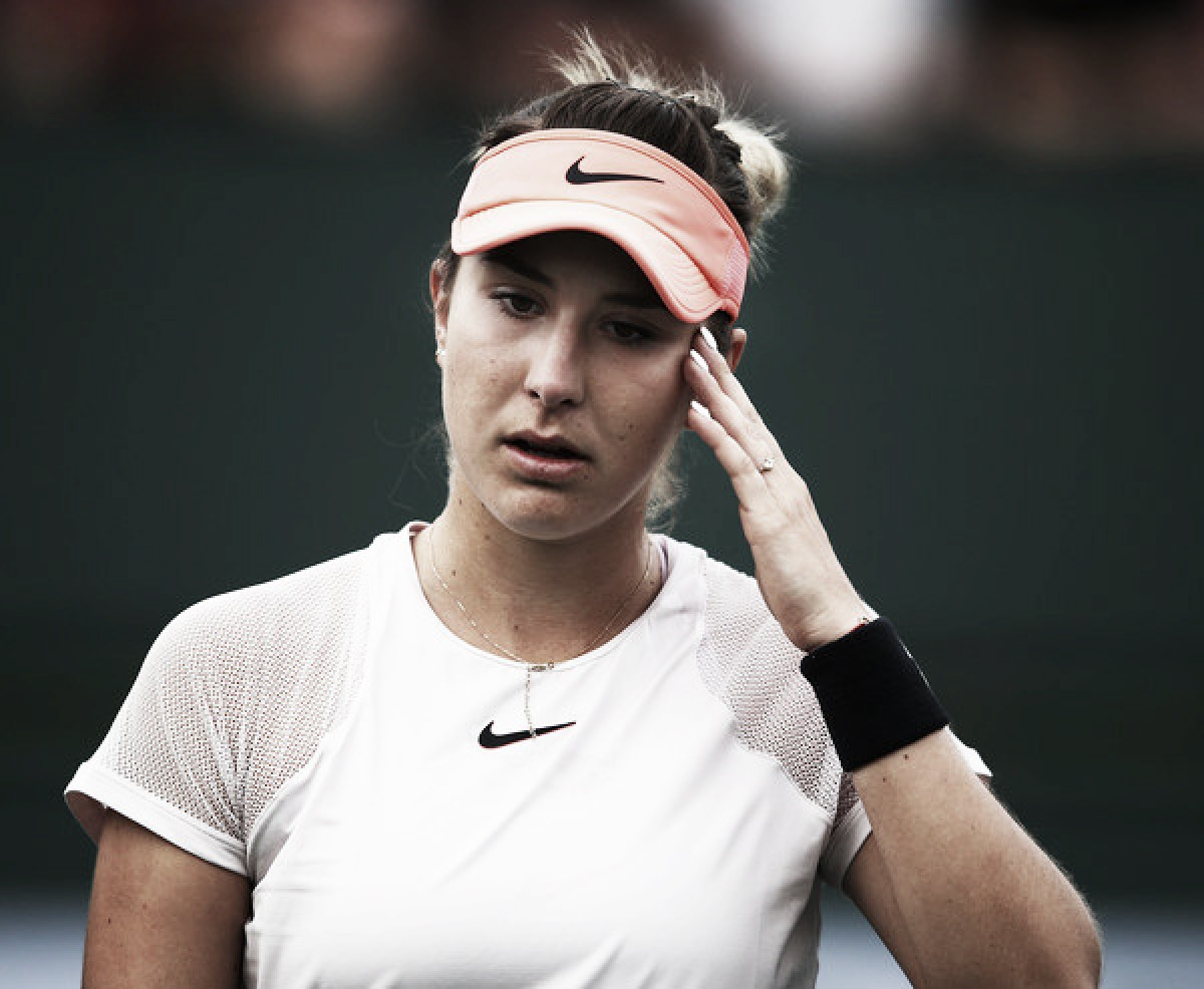 Belinda Bencic withdraws from the Samsung Open