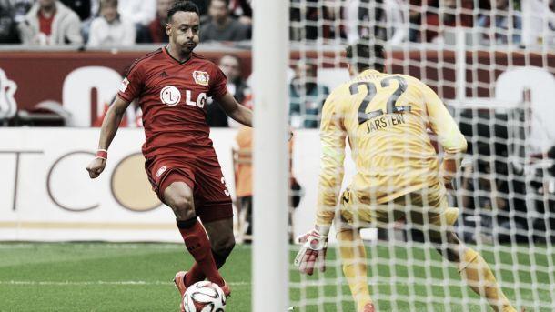 Destaque do melhor ataque da Bundesliga, Bellarabi celebra boa fase do Leverkusen