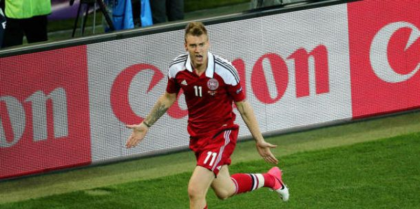 """Danemark - USA: Ni""""classe"""" Bendtner fait gagner les siens !"""