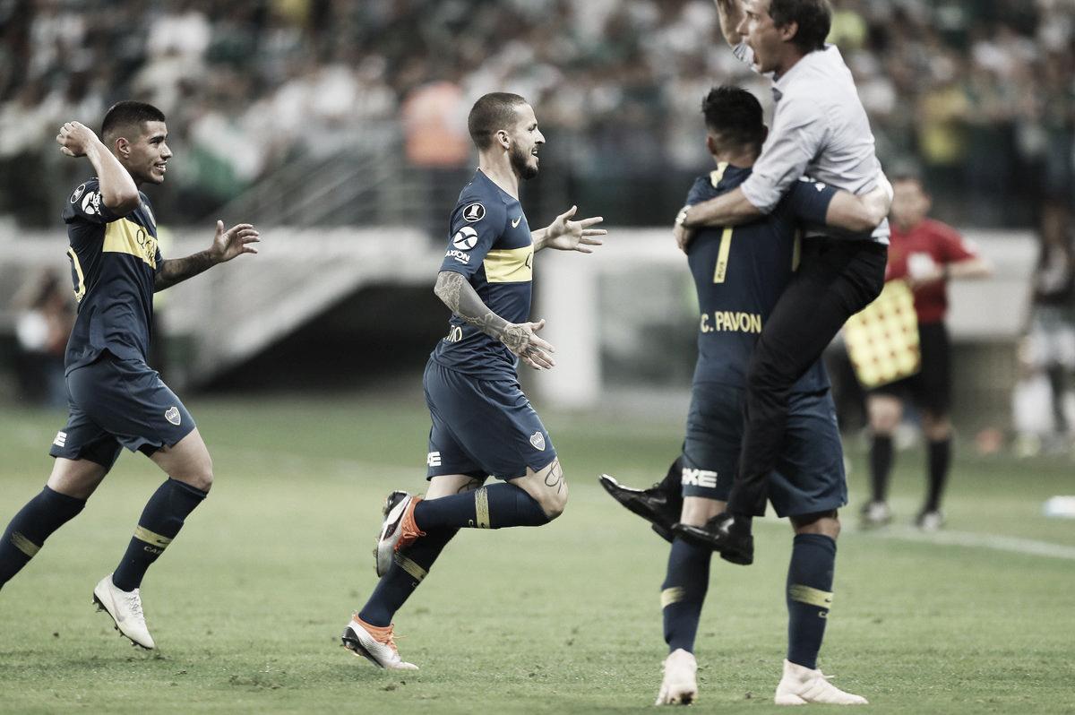 Benedetto decide novamente, Boca arranca empate do Palmeiras chega à final da Libertadores
