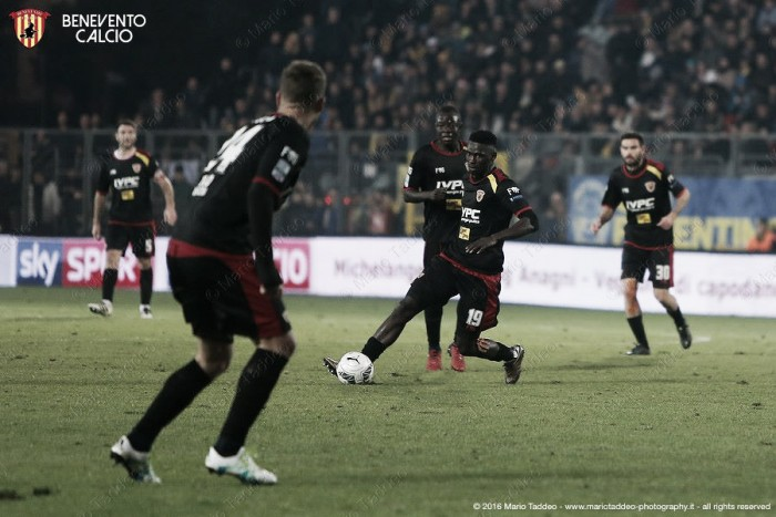 Serie B, il Benevento batte il Pisa e sale al 3° posto